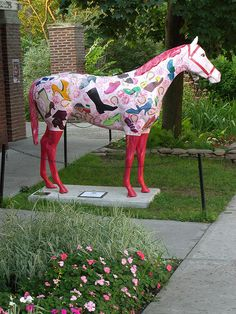 Saratoga Springs, Painted Horse by Dave Aragona, via Flickr
