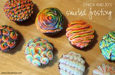 How to make swirled frosting | Chickabug