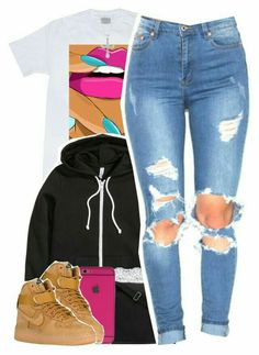[ p i n t e r e s t ] : wavykiara nike outfits, cute sneaker outfits, jordan outfits womens, Swag Outfits For Girls, Cute Swag Outfits, Chill Outfits, Teenage Outfits, Teen Fashion Outfits, Look Fashion, Casual Outfits, Fashion Clothes, Jordan Outfits