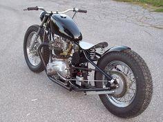 Bobber Inspiration   Savior Triumph by Jeff Yarrington   Bobbers and Custom Motorcycles