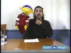 Hand Puppets & Puppet Shows : Tips for Making Puppet Voices: How to Mast...