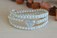 Hey, I found this really awesome Etsy listing at https://www.etsy.com/listing/202786366/crystal-heart-wrap-bracelet