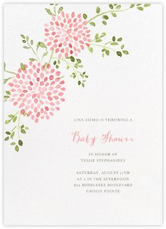 Baby Shower Invitations   Paperless Post
