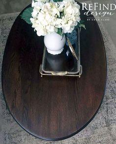 Custom Gel Stained Coffee Table