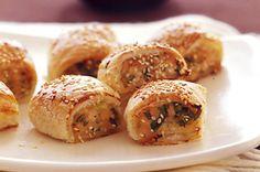 Thai-style sausage rolls (chicken)