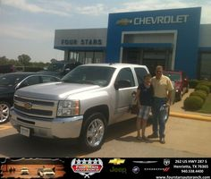 #HappyAnniversary to Samuel  Spurlock on your 2013 #Chevrolet #Silverado 1500 from Hershel Coleman at Four Stars Auto Ranch!