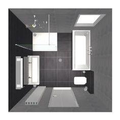 bad en douche in kleine badkamer - Google zoeken | идеи для ванной ...
