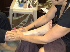 Nothing beats our spa pedicures with a scrub, mask, paraffin wax wrap, and massage for the feet!