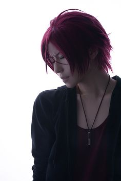 Rin Matsuoka (by kuryu) | Free! #anime #cosplay this is so hot..I can't right now