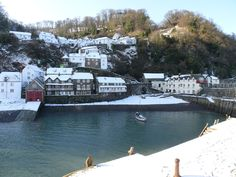 Clovelly, North Devon- In the snow
