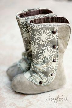 baby boots DIY