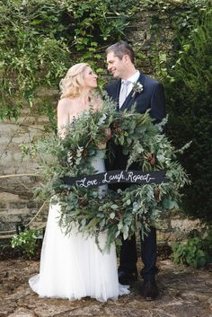 This Christmas Affair Is What Winter Dreams Are Made Of Wedding Decorationswinter