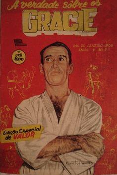 Grandmaster Helio was even a comic book hero in Brazil