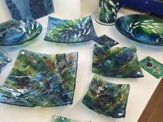Julie Langan fused glass