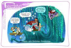 Disney Princess Memes, Disney Jokes, Funny Disney Memes, Disney Cartoons, Funny Princess, Pocket Princess Comics, Pocket Princesses, Pocket Princess Frozen, Disney Princesses