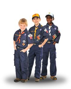 Boy Scouts of America Uniform-need to know what uniform your boys need or where to put the badges, this is the site.
