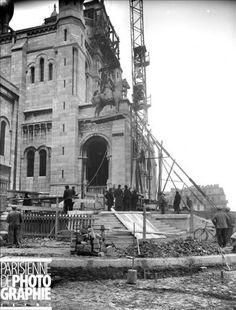 1919 - La construction du Sacré Coeur   PARIS UNPLUGGED