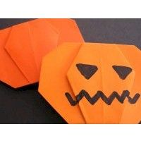 special request for a pumpkin project origami balloons turned into jackolanternspretty easy to master compared to other origami did it pinterest