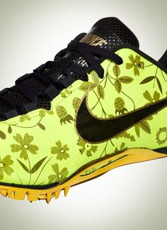 reputable site 3f124 a4ca3 A look at two Olympic track spike by Nike x Liberty London featuring  Liberty s Mirabelle Print. The Nike Zoom Victory Elite is on sale
