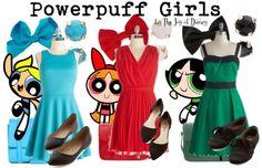 Powerpuff Girls Outfits