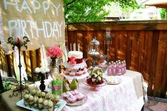 shabby chic princesss party