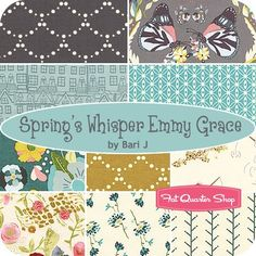 Spring's Whisper Emmy Grace Fat Quarter BundleBari J for Art Gallery Fabrics - Fat Quarter Bundles   Fat Quarter Shop