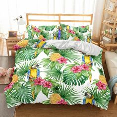 Pineapple Digital Print Home Decor Design Bedding Set Various Size Options bed linings#Bettauskleidungen#постельные накладки#doublures de lit#vuodevaatteet#bed voeringen#forros de cama#sängkläder#ropa de cama#rivestimenti del letto#mrkoalahome