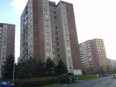 En Barrandov también habían muchas casas feas - por ejemlo estas casas prefabricadas :/