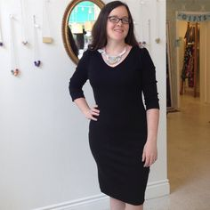 This just in: your ultimate #littleblackdress! This is the NO H8 #dress by #cameleon and it. feels. amazing. Plus it pairs easily with statement #necklaces like this one by #antoniettapresti!  #slowfashion #fw2016 #indiedesign #madeinquebec #madeincanada #canadiandesign #femaledesigner #accessorize #jewelry #wardrobestaple #workshopandflock #secretpyjamas
