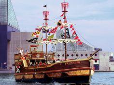Urban Pirates Cruise, Baltimore, Maryland, United States