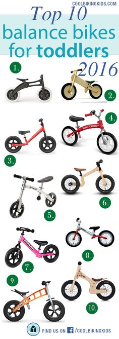 Top 10 balance bikes for toddlers is a compilation of 10 balance bikes that covers a huge range of necessities parents can be struggle with when they are choosing a balance bike for their children.  We are giving you a selection of the best balance bikes due to their lightness, adaptability, seat and handlebar adjustments, prices and durability.