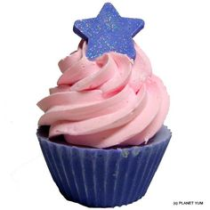 Natural Goats Milk Cup Cake Soaps - Make the Perfect Gift!!