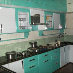 Small Indian Kitchen Design  Interiors  Indian Home Decor Gorgeous Cupboard Designs For Kitchen In India Inspiration Design