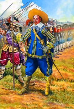 A Swedish officer of the Thirty Years War