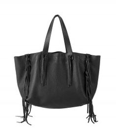 Valentino Large Tote Bag with Fringe