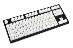 VIM White #WASDKeyboards #WASD #MechanicalKeyboard #keyboard #keycaps #CherryMX