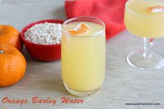 Orange barley summer cooler- http://www.jeyashriskitchen.com/2013/03/orange-barley-water-summer-drinks-recipe.html