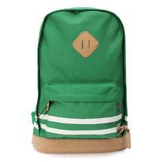 Girl Travel Canvas Leisure Rucksack Backpack
