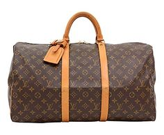 Sac de voyage d'occasion LOUIS VUITTON, marron - 50*29