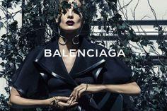 Daria Werbowy for Balenciaga SS14