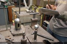 improvised metal shaping anvils    Home made workshop tools - Page 4 - The Jockey Journal Board