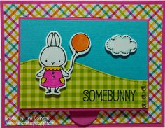 Live, Love & Stamp: Somebunny Thinks You're Special! (+ A Tutorial)!