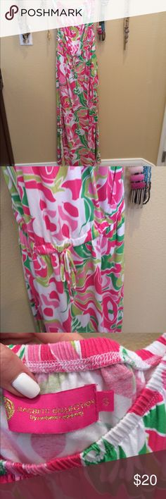 Lilly Pulitzer look alike Maxi! Great condition! Macbeth Collection Dresses Maxi