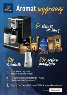 #VidaEduscho #Tchibo #Saeco #konkursypromocyjne #kawiarka #kawa #Intermarche #gala #ekspress #davidoff #konkursy #ekonkursy #nagroda #konkurs #VidaEduscho #Tchibo #Saeco #konkursypromocyjne #kawiarka #kawa #Intermarche #gala #ekspress #davidoff Drip Coffee Maker, Coffee Making Machine