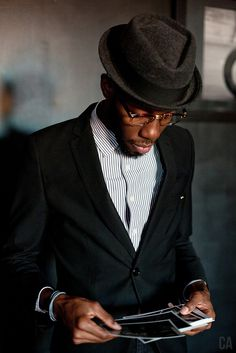 suit and no tie Via: The Street Style || Streetstyle Inspiration for Men! #WORMLAND Men's Fashion