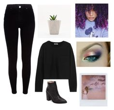 """""""Untitled #821"""" by ikgidda ❤ liked on Polyvore featuring River Island, T By Alexander Wang, Band of Outsiders and Sol Sana"""