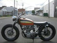 little Honda Cafe Racer