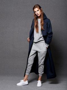 Raey Kangaroo-pocket cashmere-blend sweatshirt