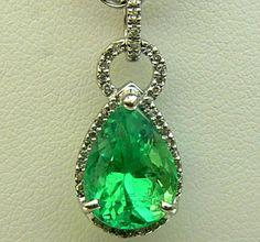 4.0tcw Blinding Colombian Emerald & Diamond by JRColombianEmeralds, $4575.00