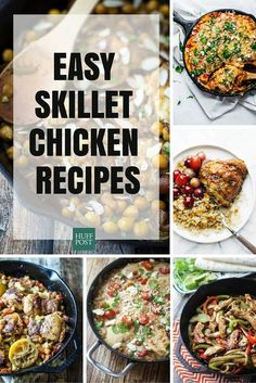 Cast Iron Chicken Recipes Thatll Make You Want To Kiss Your Skillet No task is too great for a cast iron skillet. Headshot of Julie R. Thomson Julie R. Cast Iron Chicken Recipes, Chicken Skillet Recipes, Cast Iron Recipes, Fried Chicken Recipes, Skillet Meals, Chicken Meals, Cast Iron Skillet Cooking, Iron Skillet Recipes, Dinner Recipes For Kids
